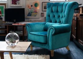 Armchairs «GRACE» in the interior 0